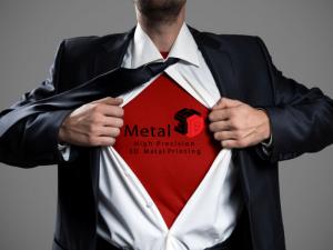 Metal 3D Superhero