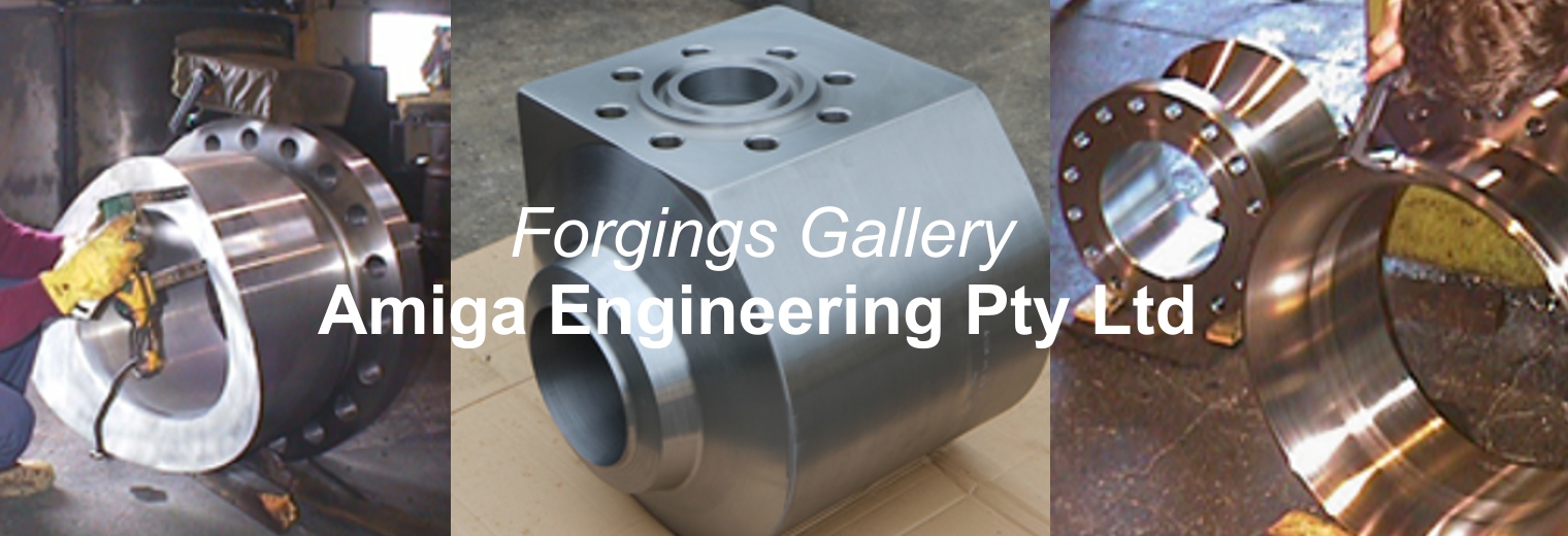 Flanges from forgings