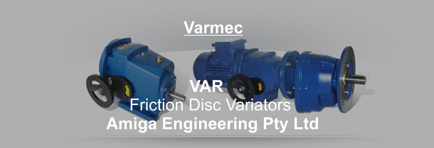 friction disc variators