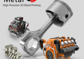 Automotive metal 3d printing