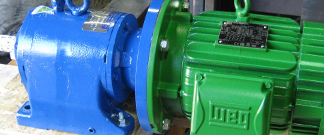 helical gearmotor