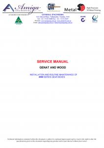 Genat and Wood Manual