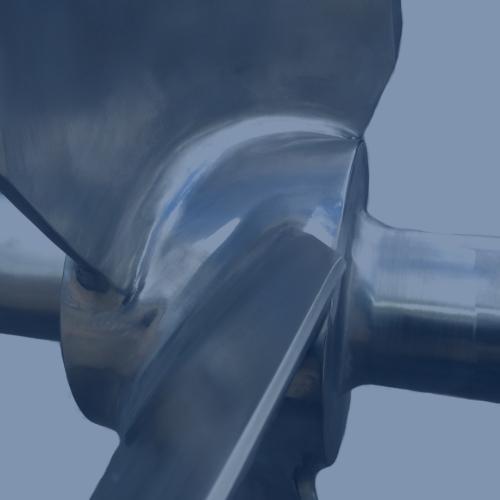 welded impellor hub