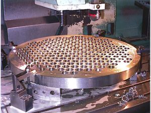 tube plate machining