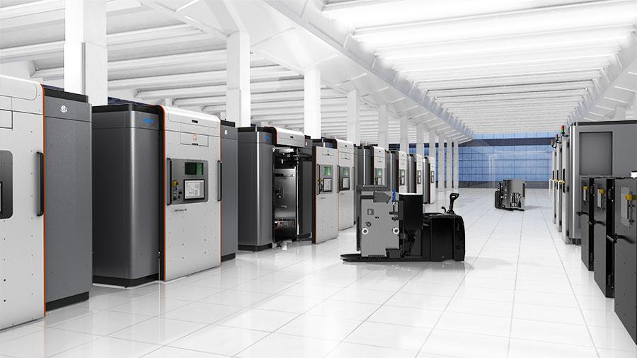 metal 3d printing factory