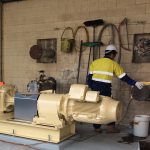 large gearbox pump