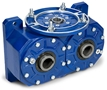 double output worm gearbox